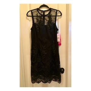 🆕NWT NANETTE LEPORE GORGEOUS BLACK LACE DRESS